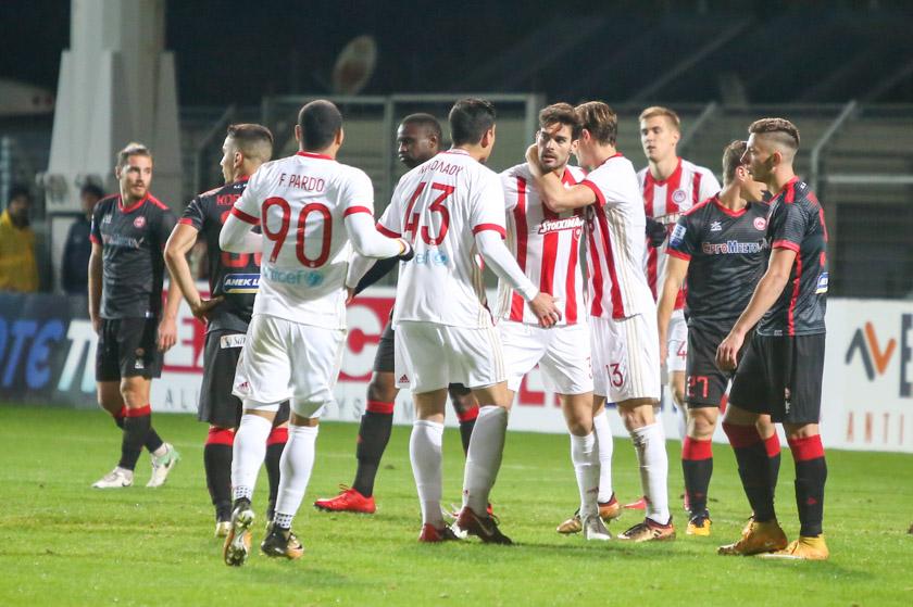 Goal Olympiakos 4
