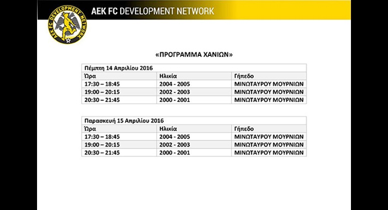 aek development xania