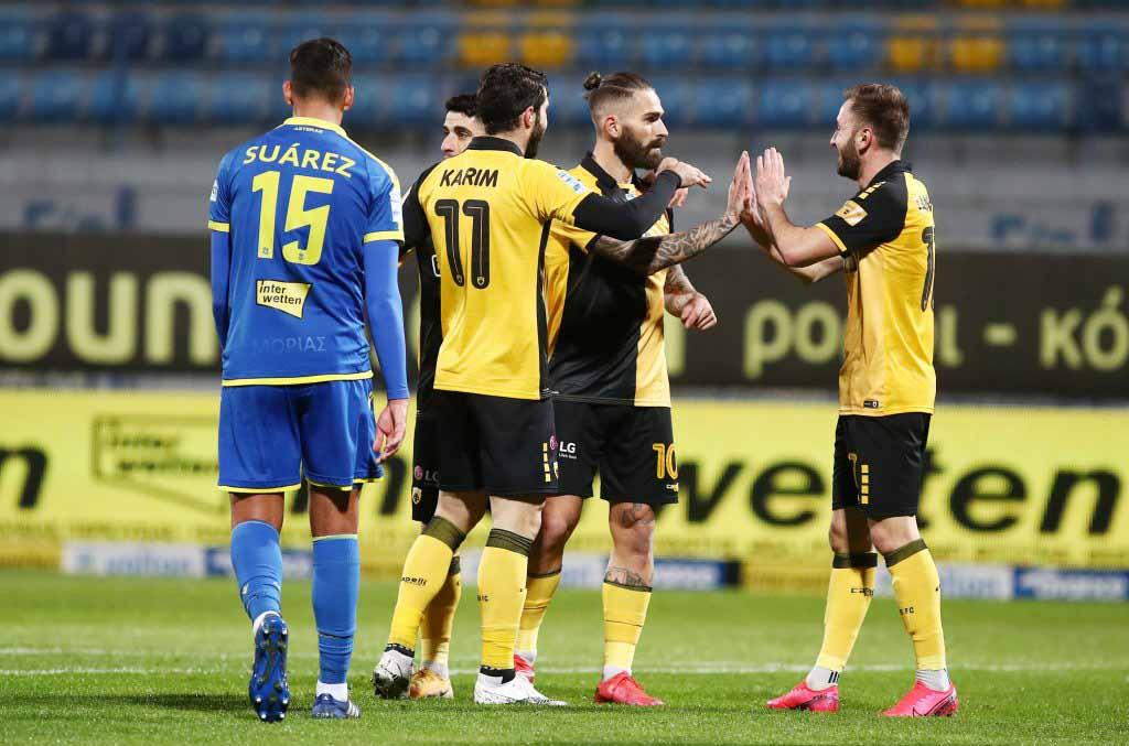 Λιβάια (γκολ στην Τρίπολη)